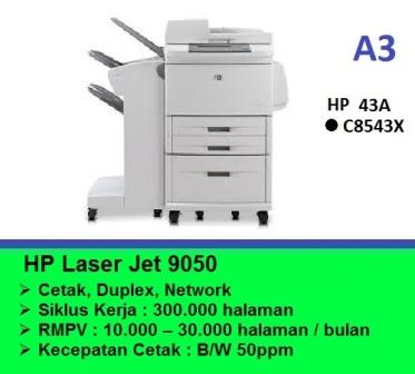 LaserJet Enterprise 9050